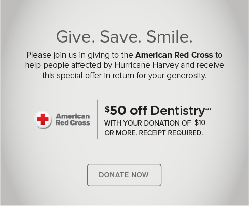 North Powers Modern Dentistry - Donate Red Cross® Hurricane Harvey